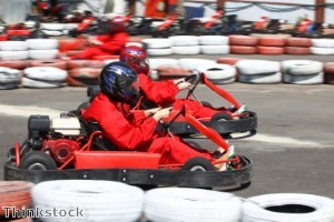Karting event held in aid of Help for Heroes