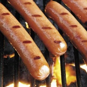 Fireworks factory goes up in flames over sausages