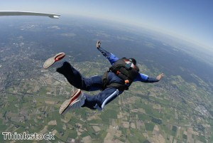 Skydiver faces £50,000 bill after parachute fails