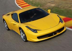Police car smashes into £250,000 Ferrari