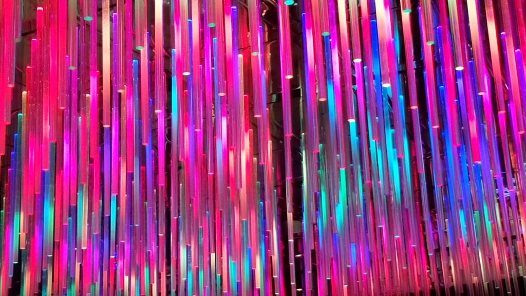 Pretty lights in vegas