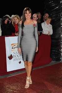 Carol Vorderman bags Rear of the Year prize