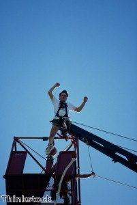 Charity bungee jump raises cash for Help for Heroes