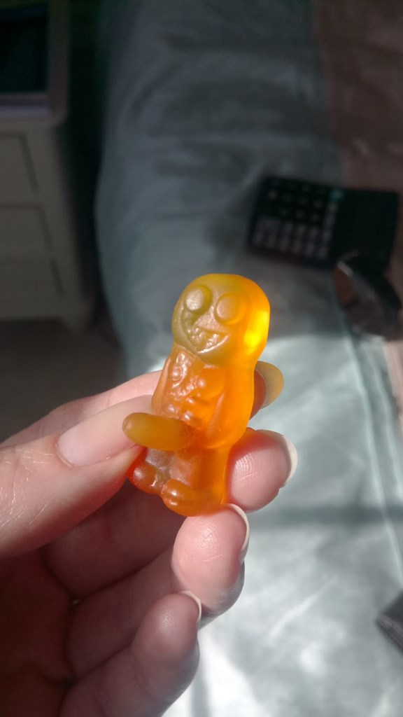 Jelly babies have suddenly hit puberty!