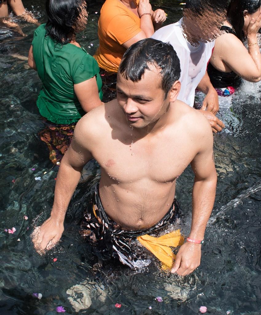 Holy Bath, Bali