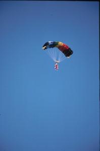 "Grandma plans parachute for ""inspirational"" soldier's wedding"