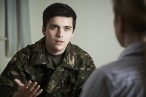 Veterans struggling with civilian life are urged to join a new Peer Support Service