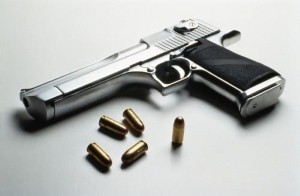 Man threatens to shoot neighbour after he farts