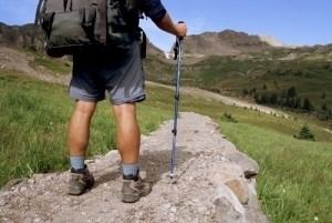 Man walking length of UK with H4H