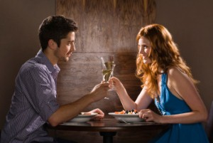 Men 'should check how they look at the start of a date'