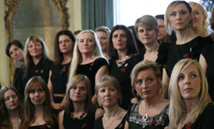 Military Wives Choir raises £500k