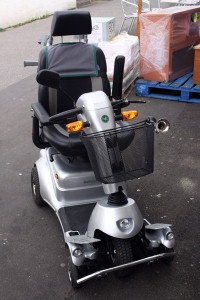 Mobility scooter 'gets pimped'