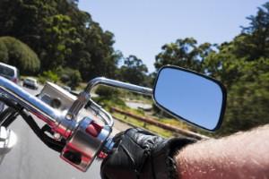 Naked biker gets ticket for having no helmet