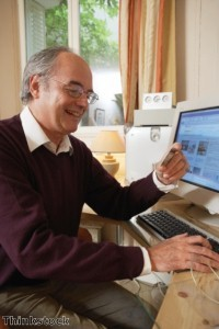 Online dating 'becoming a hit with older people'