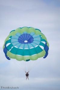 Parachuting 70-year-old raises money for H4H