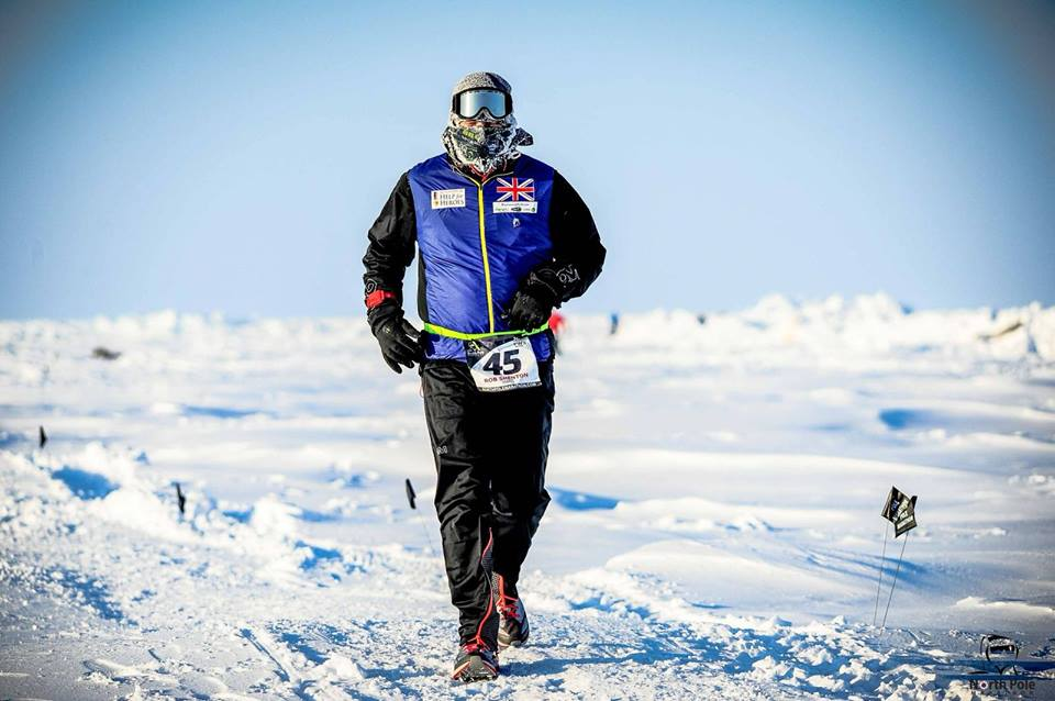 Army Veteran goes toughest, coldest and highest for Help for Heroes