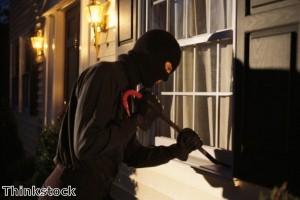 Suspected burglar caught after catnap