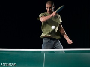 Toddler showcases 'unbelievable table tennis skills'