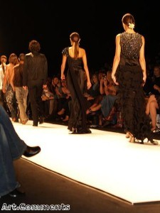 Troops perform at Help for Heroes fashion show