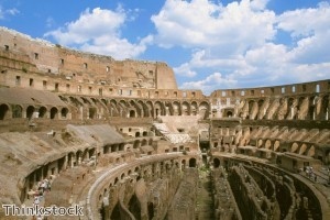 Unwitting American tourists arrested after carving initials into Colosseum